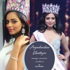 The Fbb Femina Miss India 2016, Priyadarshini Chatterjee looks stunning in accessories by Aquamarine. Buy the same at all our stores. Styled by Surabhi Sharma.  #aquamarine_jewellery #missindia #priyadarshinichatterjee #jewellery #fashion #style #designer #love #surabhisharma #aquamarine