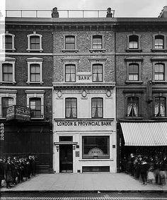 London And Provincial Bank, 167 Whitechapel Road, 26 Apr 1910 via English Heritage