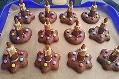 Lebkuchen – Kerze Gingerbread candle (recipe with picture) by taliafee Noel Christmas, Christmas Baking, Christmas Cookies, Christmas Recipes, Baking With Kids, Xmas Food, Food Humor, Winter Food, Food Design