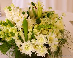 White and Spring Greens by RRL