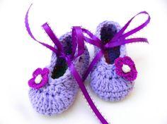 Infant Baby Girl 4 Ballet flats slipper by ItsyBitsyBabyToes, $10.00