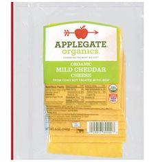 FreshDirect - Applegate Farms Organic Mild Cheddar