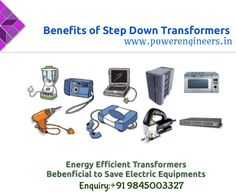 Power Engineers Offers High Quality #Stepdowntransformer all over India Which is Durable & Heavy Duty.