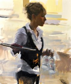 La Serveuse by Aldo Balding