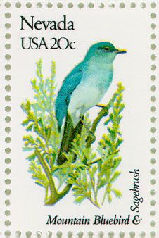 us Indiana state bird postage stamps - Google Search