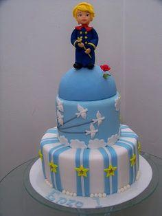 Le Petit Prince...love the book love the cake