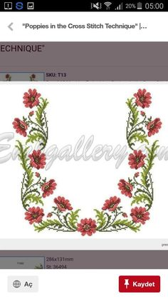 """"""\""""Poppies in the Cross Stitch Technique"""""""", """"This post was discovered by Gül"""" Cross Stitch Borders, Cross Stitch Flowers, Cross Stitch Designs, Cross Stitching, Cross Stitch Embroidery, Cross Stitch Patterns, Hand Embroidery, Embroidery Patterns Free, Machine Embroidery Designs""236|419|?|en|2|e9e9a681c8744405592824740e032b15|False|UNLIKELY|0.3362900912761688