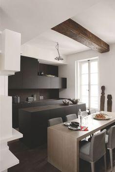 Jeu de rangements pour une cuisine minimaliste - Concevoir une cuisine où je me sens bien - CôtéMaison.fr
