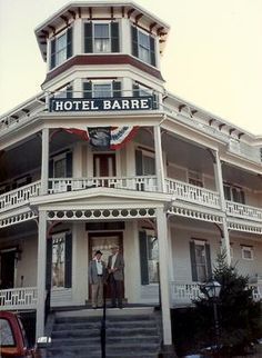 Memories of our Town's hotel:  historic hotel called the Barre Hotel. It was on the town square in Barre, Massachusetts. All the rooms were filled with antique furniture,  A fire destroyed the hotel but the memories remain.