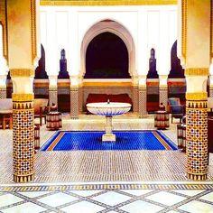 Icono de #marrakesh y de #marruecos La Mamounia