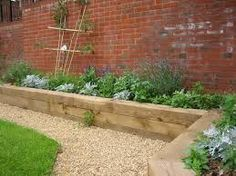 Image result for railway sleepers garden steps