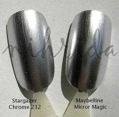Chrome Nail Polish Opi | ... and shopping bag vicious malicious stargazer chrome nail polish opi