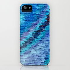 BLUE FLOW iPhone & iPod Case by catspaws - $35.00