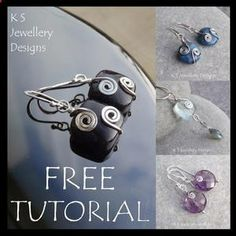 KSJewelleryDesigns: Spiral Adorned, Wire Jewelry Tutorial