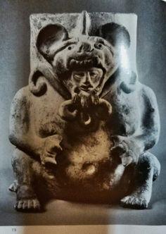 Urne funeraire  Figurengefässe aus Oaxaca/ Mexico Schuler-Schömig Immina von  Editorial: Museum für Völkerkunde, Berlin (1970) plate 73
