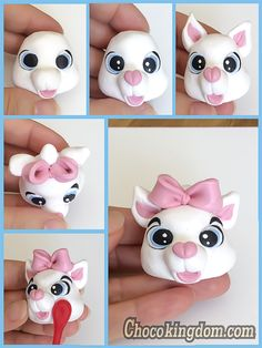 Disney Marie (Aristocats) Cake Topper Tutorial Part 2
