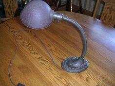 vintage gooseneck lamp Desk Lamp, Table Lamp, Industrial Desk, Vintage, Home Decor, Style, Swag, Table Lamps, Decoration Home