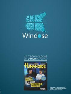 Humanoïde lance une campagne print mêlant drogue et technologie