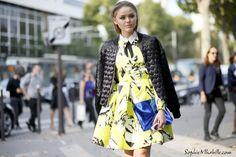 #kristinabazan #kayture #dress #yellow #beauty #paris #pfw #women #fashionweek #ss15 #mbfw #fashion #style #look #outfit #streetfashion #streetstyle #mode #moda #style #streetlook #streetbeauty