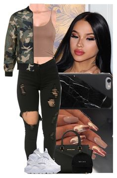 """Untitled #697"" by msixo ❤ liked on Polyvore featuring GET LOST, Native Union and MICHAEL Michael Kors"