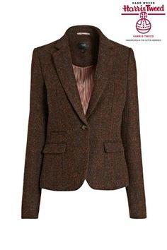 Buy Harris Tweed Rust Jacket from the Next UK online shop