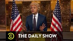 LOL...    The Daily Show - President-Elect Trump Takes On the Crooked Media