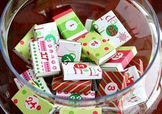 another Christmas Activity Advent Calendar idea