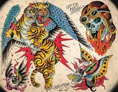lion traditional tattoo gallery - Cerca con Google