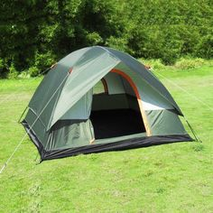 Us 45 58 Feb Only Ship From Russia China 4 Peoples Waterproof Outdoor Camping Hiking Climb Polyester Oxford 4 Person Camping Tent Outdoor Camping Outdoor