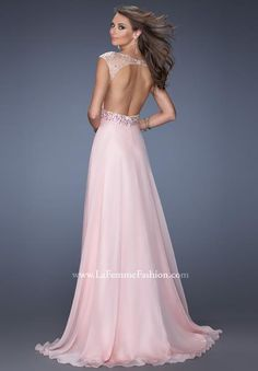 Beaded Bodice A Line Open Back Sweep Train With Chiffon Scoop Prom Dresses Strapless Homecoming Dresses, Ombre Prom Dresses, Prom Dresses 2015, Prom 2015, Grad Dresses, Nice Dresses, Wedding Dresses, Short Semi Formal Dresses, Formal Gowns