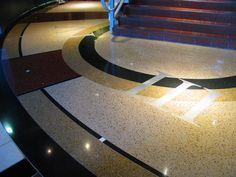 I want terrazzo floors in my house.