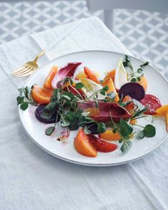 Persimmon, Beet, and