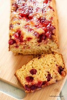 Cranberry & Quinoa Bread - Cooking Quinoa