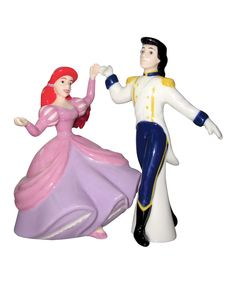 Take a look at this Ariel & Eric Salt & Pepper Shakers on zulily today!