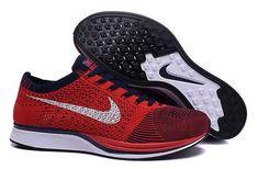 best sneakers 529af fcfa4 1767   Nike Flyknit skor Dam Herr University Svart Röd Vit SE656497IhnptzGeT