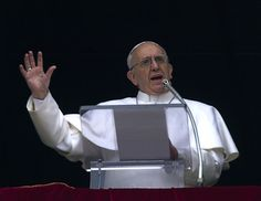 Pope Francis Angelus Prayer In St. Peters Square