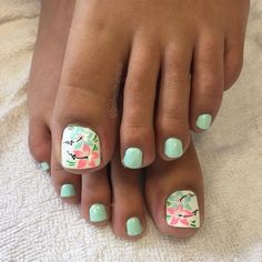 Are you looking for summer nail beach toes See our collection full of summer nail beach toes 2018 and get inspired! : Are you looking for summer nail beach toes See our collection full of summer nail beach toes 2018 and get inspired! Pretty Toe Nails, Cute Toe Nails, Gorgeous Nails, Pretty Toes, Beach Toe Nails, Summer Toe Nails, Summer Beach Nails, Beach Nail Art, Toe Nail Art