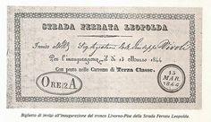 La prima ferrovia toscana che univa Firenze a Livorno di Alessandro Ferrini Nell'aprile del 1838 il granduca Leopoldo II di Asburgo-Lorena ricevette la richiesta dei finanzieri Emanuele Fenzi di Fi…