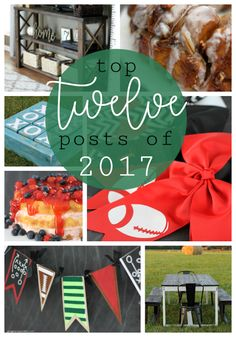 Happy New Year! :) Can you believe the new year is already here? I hope you had a fabulous holiday! I always love to look back on the pr. Ginger Snaps, Happy New Year, Posts, Oven Recipes, Table Decorations, Dutch Oven, Holiday, Projects, Crafts