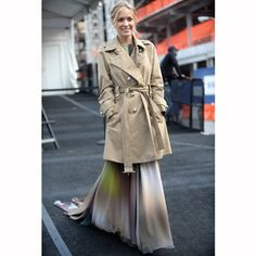 Click the picture for street style trench inspiration plus more style ideas from Redonline.co.uk