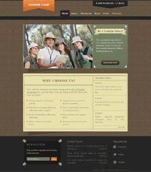 Summer Camp Website