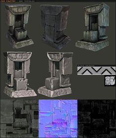 my work at PI - Polycount Forum