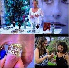 """TV SHOW """"Mais Você"""" with TV Host Ana Maria Braga and Brazilian actress Paola Oliveira - Fabi no programa Mais Você com Ana Maria Braga e a atriz Paola Oliveira."""