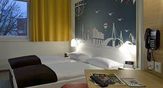 Zweibettzimmer im B&B Hotel Hamburg-Nord
