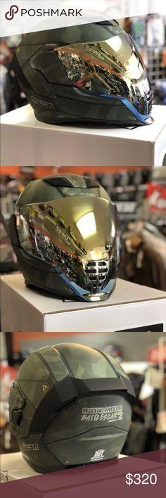 Icon Motorrad Airflite Visor Visier Schild Fliteshield Dark Smoke
