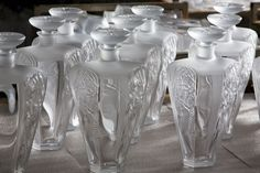One of the final stages of the delicate production process of the limited edition Beluga Epicure by LALIQUE.