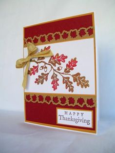 Fall is in the Air! by Pam MacKay - Cards and Paper Crafts at Splitcoaststampers