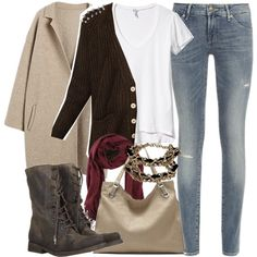 """""""Isaac Inspired Winter College Outfit"""" by veterization on Polyvore"""