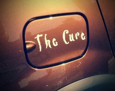 Sticker The Cure