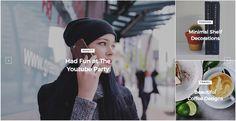 Select #CheerUp Blog and Magazine WordPress #theme for your #fashion or #travel blog. Check on #awmlab